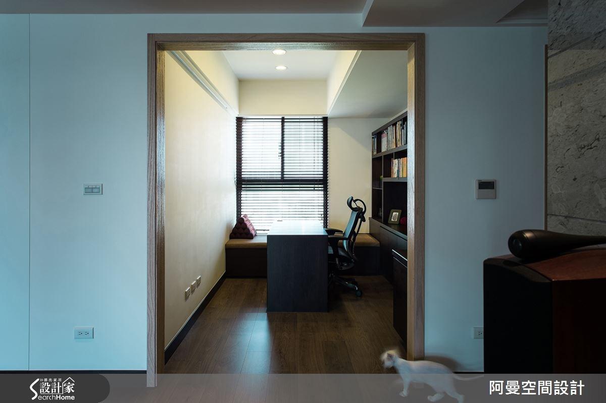52坪新成屋(5年以下)_現代風書房案例圖片_阿曼空間設計_阿曼_32之15