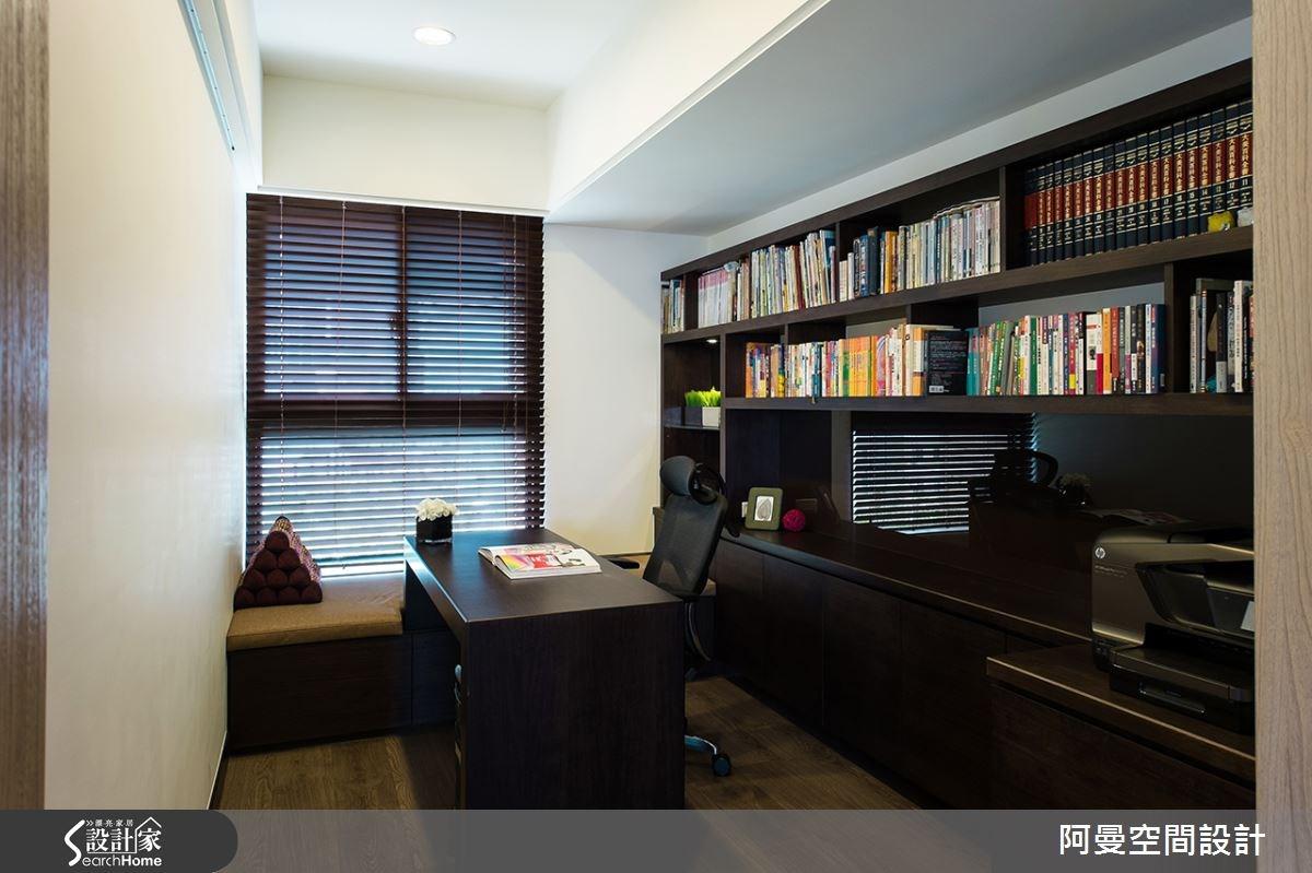 52坪新成屋(5年以下)_現代風書房案例圖片_阿曼空間設計_阿曼_32之16