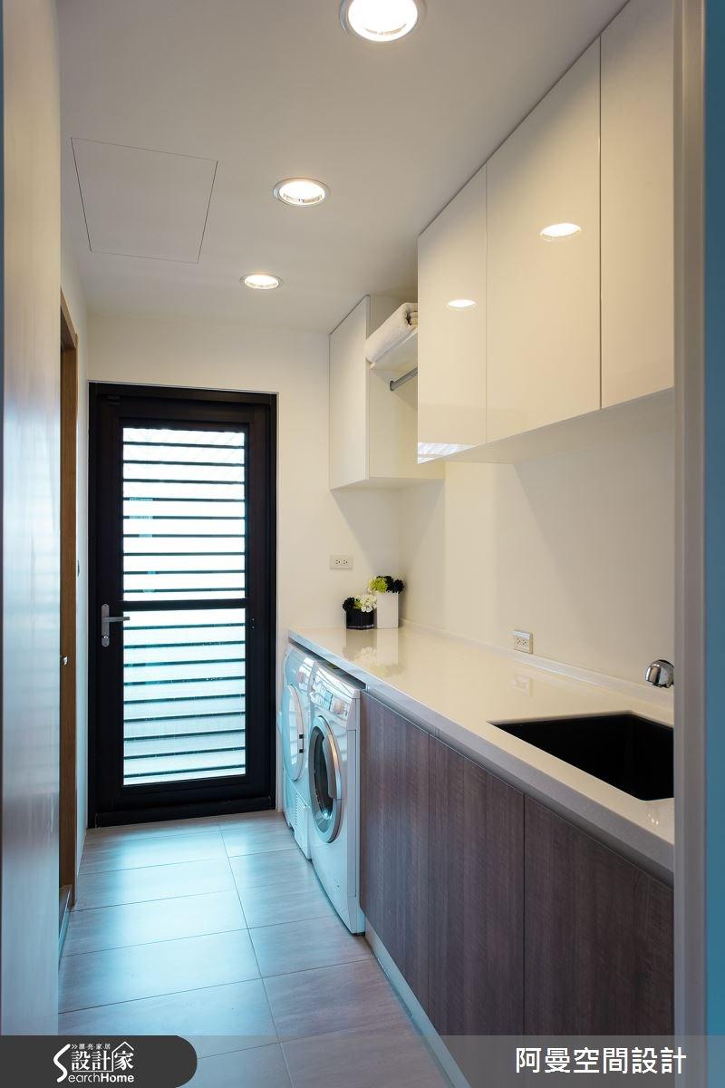 52坪新成屋(5年以下)_現代風廚房案例圖片_阿曼空間設計_阿曼_32之18