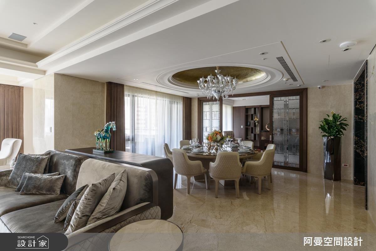 102坪新成屋(5年以下)_奢華風餐廳案例圖片_阿曼空間設計_阿曼_37之6