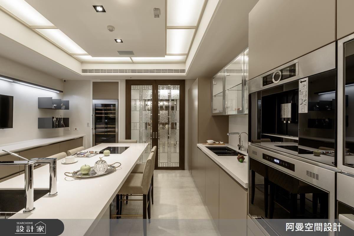 102坪新成屋(5年以下)_奢華風餐廳案例圖片_阿曼空間設計_阿曼_37之9