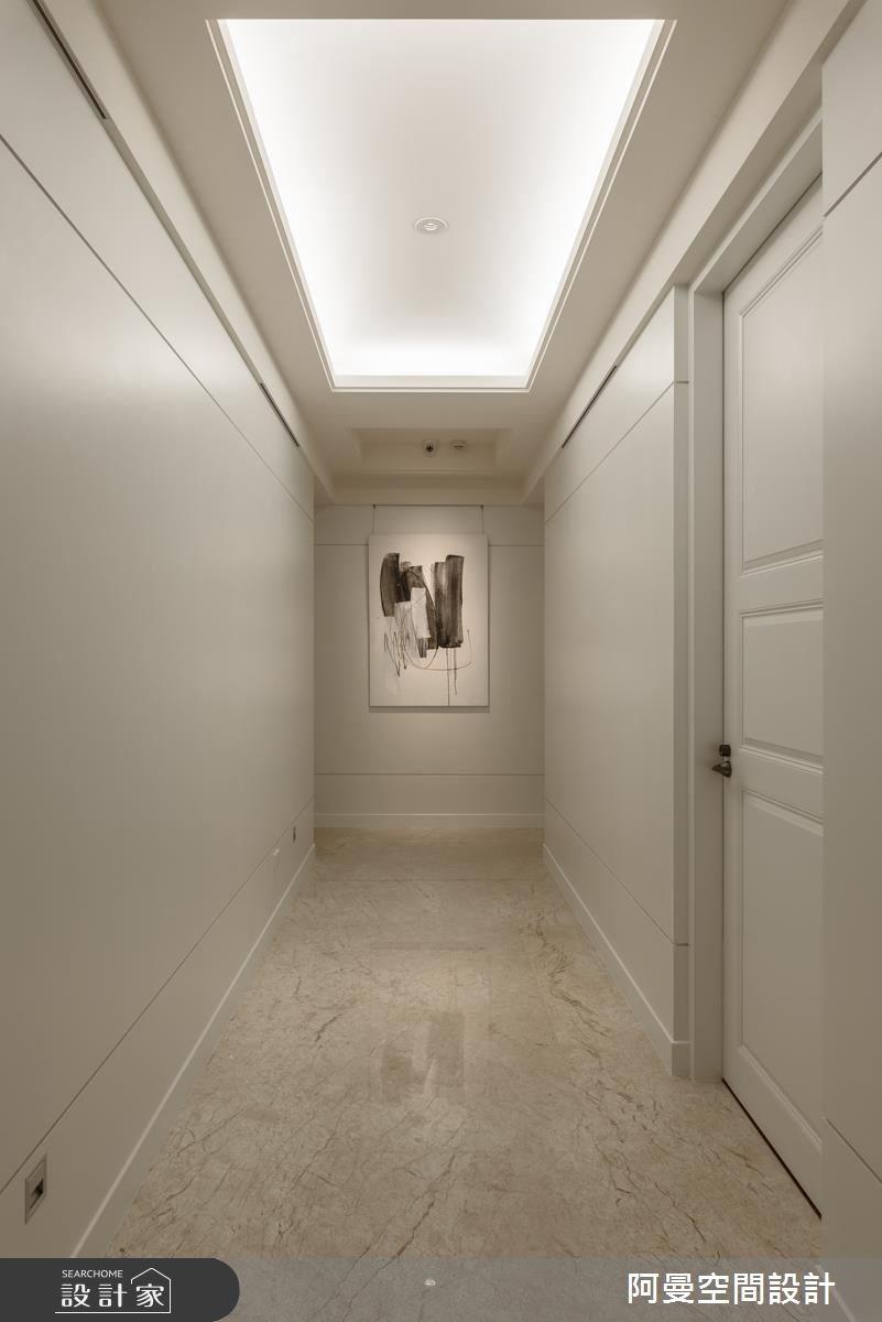102坪新成屋(5年以下)_奢華風走廊案例圖片_阿曼空間設計_阿曼_37之10