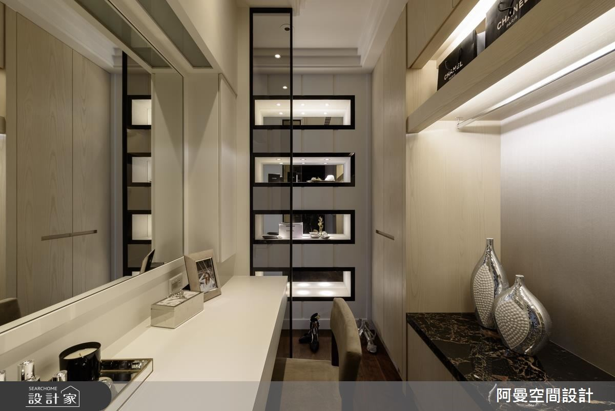 102坪新成屋(5年以下)_奢華風書房案例圖片_阿曼空間設計_阿曼_37之14
