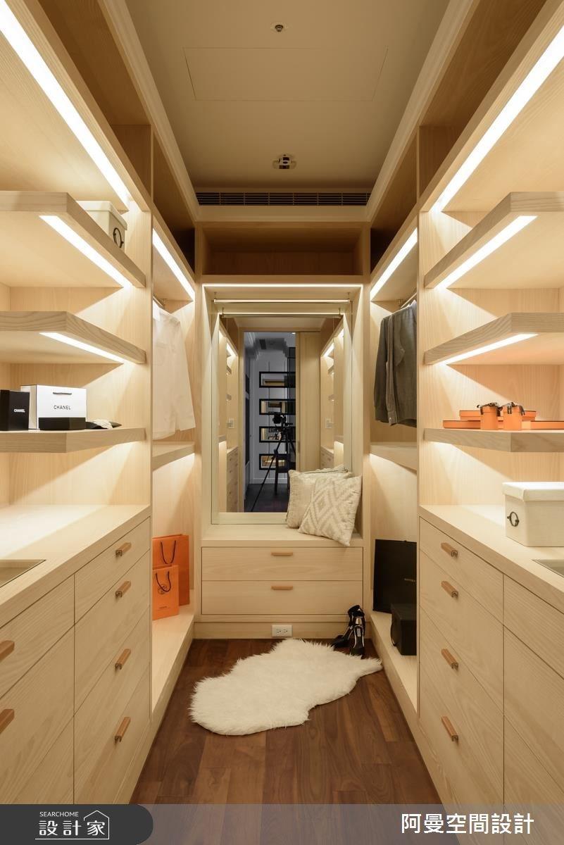 102坪新成屋(5年以下)_奢華風更衣間案例圖片_阿曼空間設計_阿曼_37之15