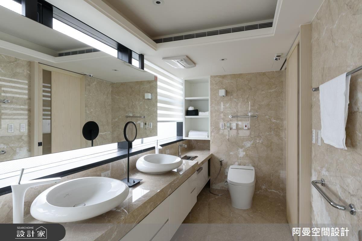 102坪新成屋(5年以下)_奢華風浴室案例圖片_阿曼空間設計_阿曼_37之16