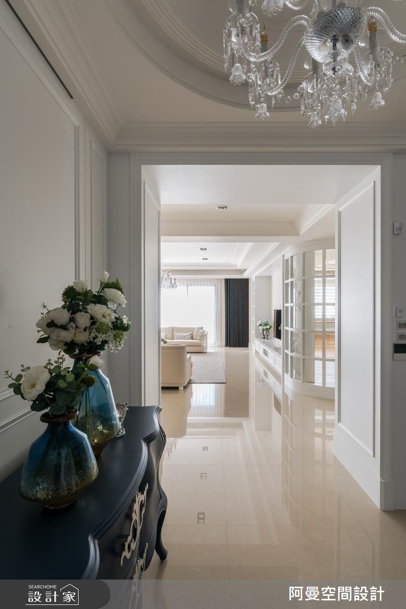 105坪新成屋(5年以下)_美式風玄關案例圖片_阿曼空間設計_阿曼_38之2