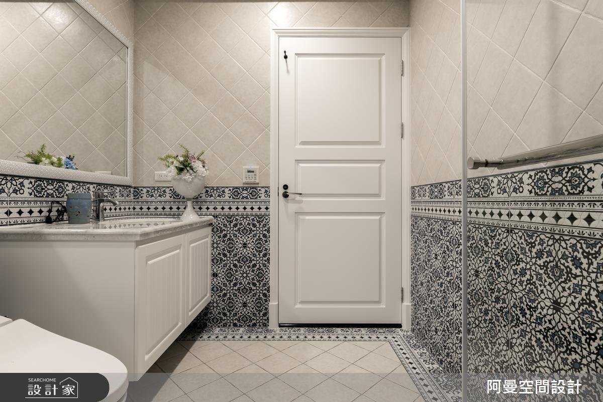 105坪新成屋(5年以下)_美式風浴室案例圖片_阿曼空間設計_阿曼_38之26