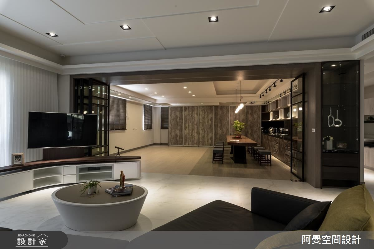 105坪新成屋(5年以下)_工業風客廳案例圖片_阿曼空間設計_阿曼_39之5