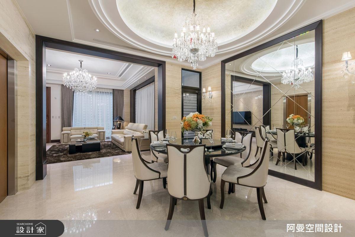 110坪新成屋(5年以下)_新古典餐廳案例圖片_阿曼空間設計_阿曼_41之4