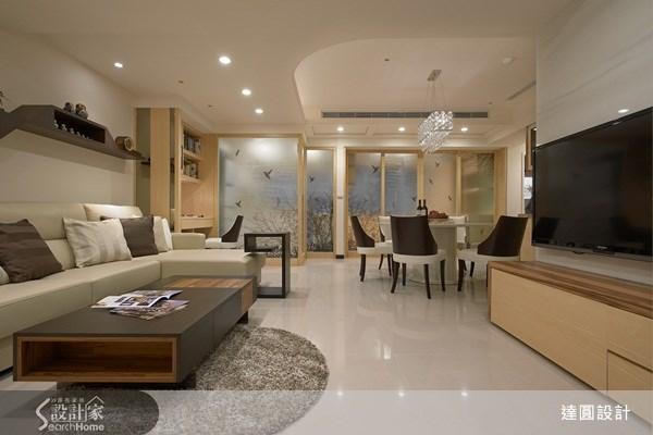 35坪新成屋(5年以下)_現代風案例圖片_達圓室內空間設計_達圓_04之3