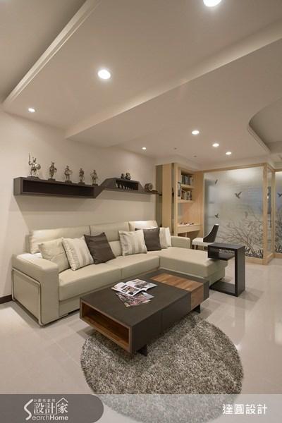 35坪新成屋(5年以下)_現代風案例圖片_達圓室內空間設計_達圓_04之2