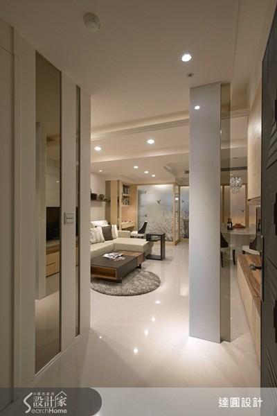 35坪新成屋(5年以下)_現代風案例圖片_達圓室內空間設計_達圓_04之1