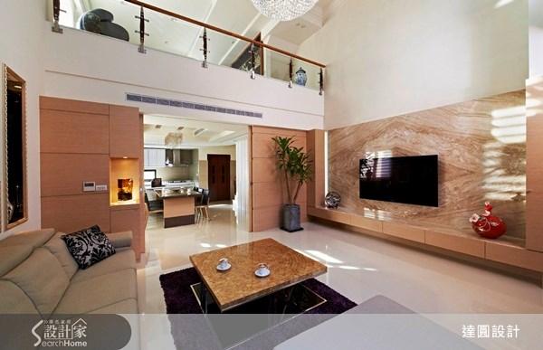 105坪新成屋(5年以下)_混搭風案例圖片_達圓室內空間設計_達圓_02之6