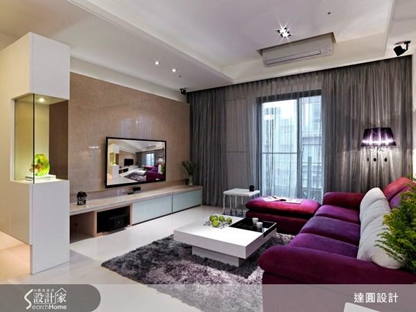 52坪新成屋(5年以下)_現代風案例圖片_達圓室內空間設計_達圓_03之2