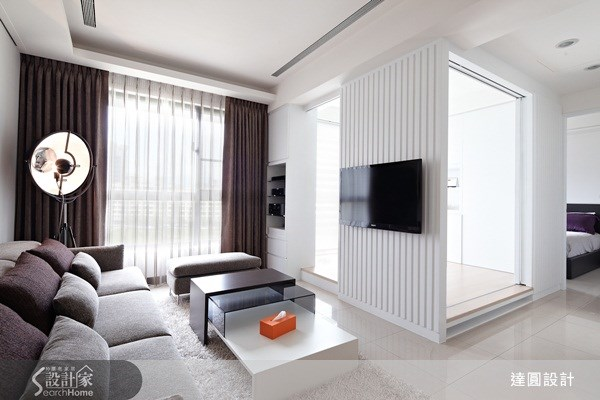 19坪新成屋(5年以下)_現代風案例圖片_達圓室內空間設計_達圓_01之4
