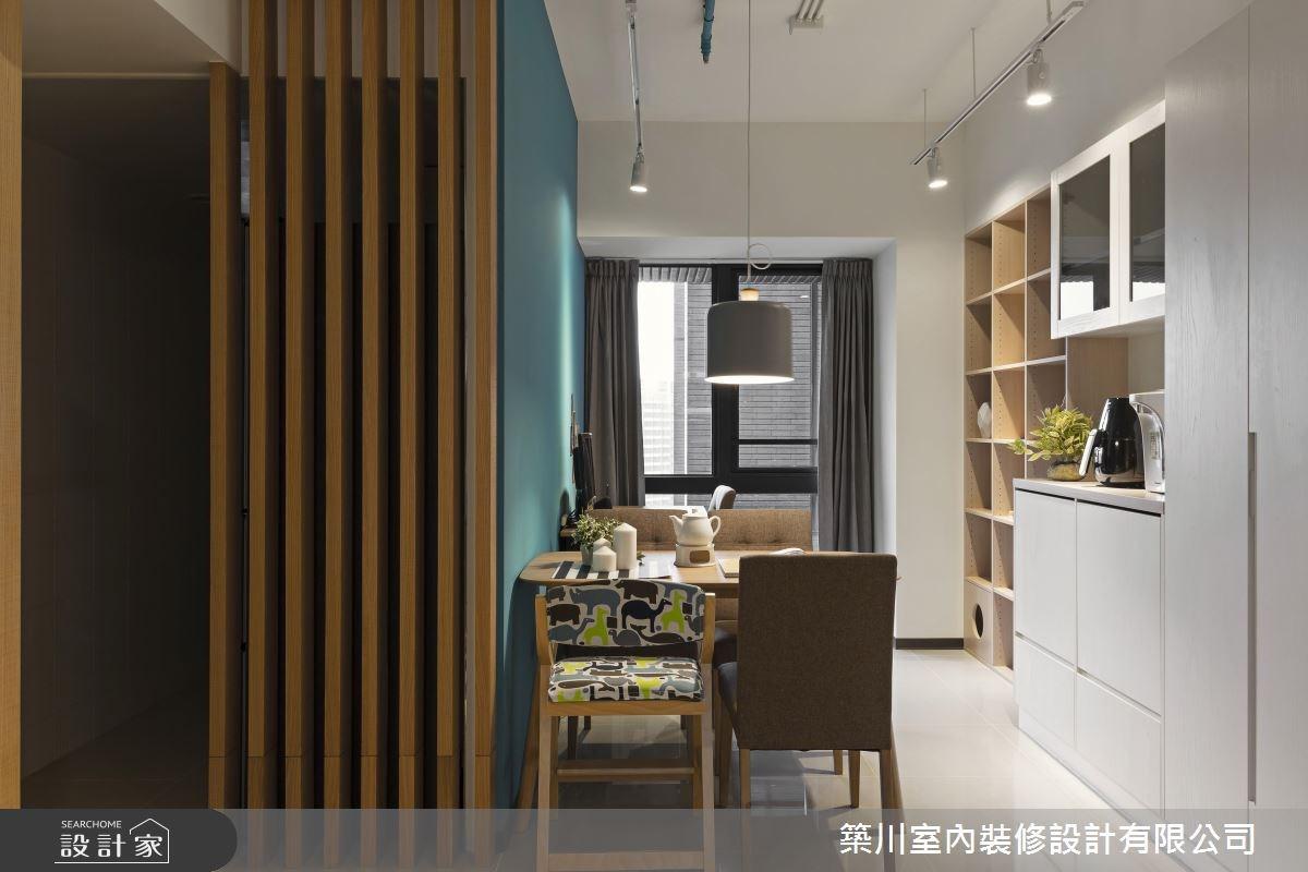 23坪新成屋(5年以下)_北歐風餐廳案例圖片_築川設計_築川_02之9