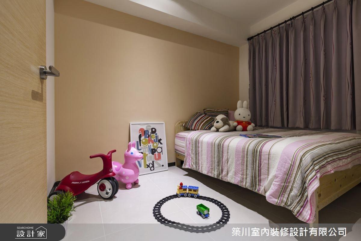 23坪新成屋(5年以下)_北歐風兒童房兒童房案例圖片_築川設計_築川_02之16