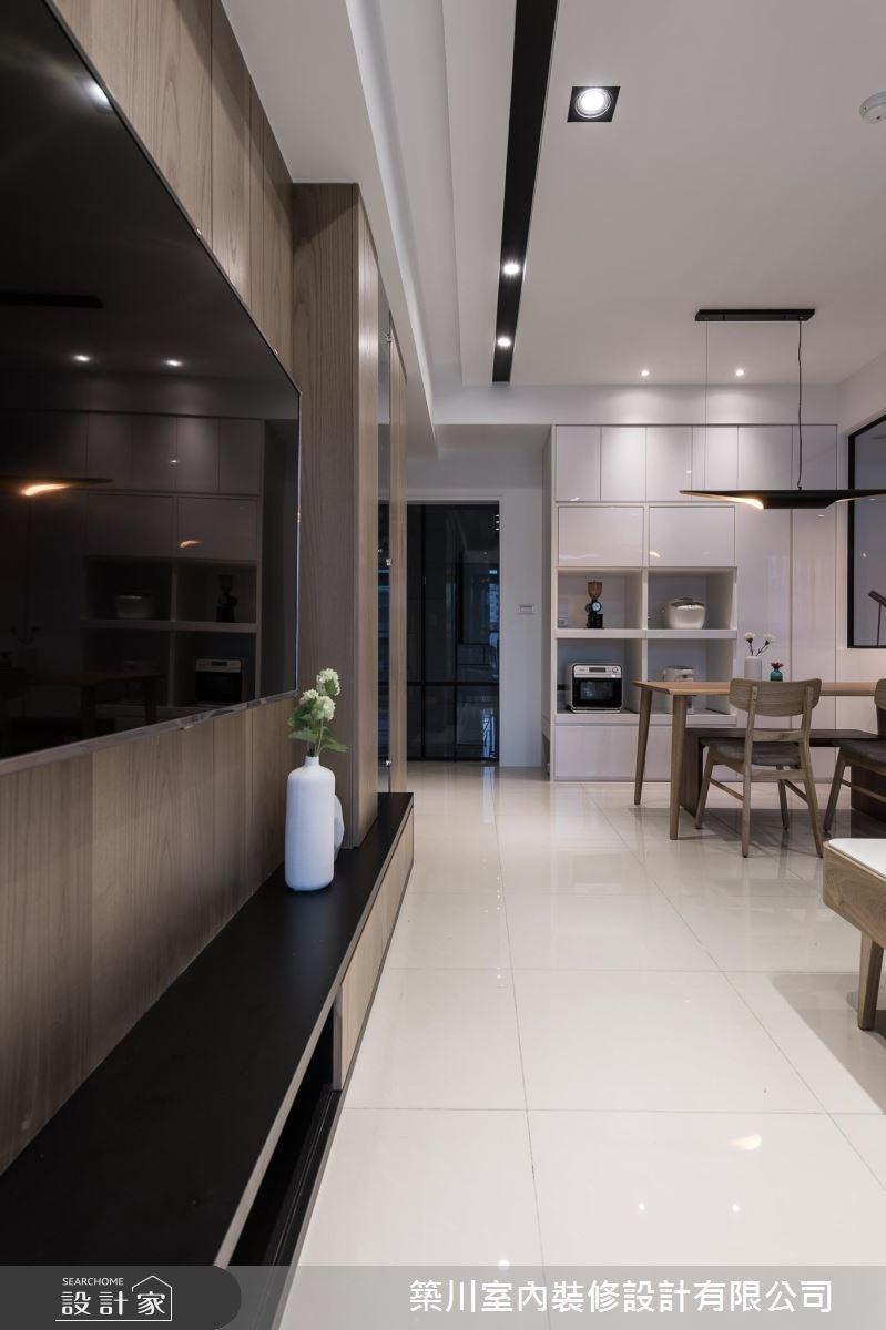 23坪新成屋(5年以下)_北歐風客廳餐廳案例圖片_築川設計_築川_06之5