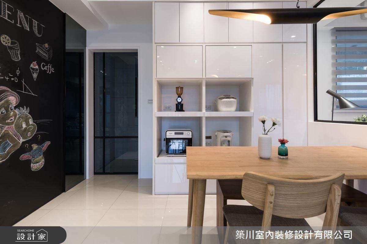 23坪新成屋(5年以下)_北歐風餐廳案例圖片_築川設計_築川_06之6