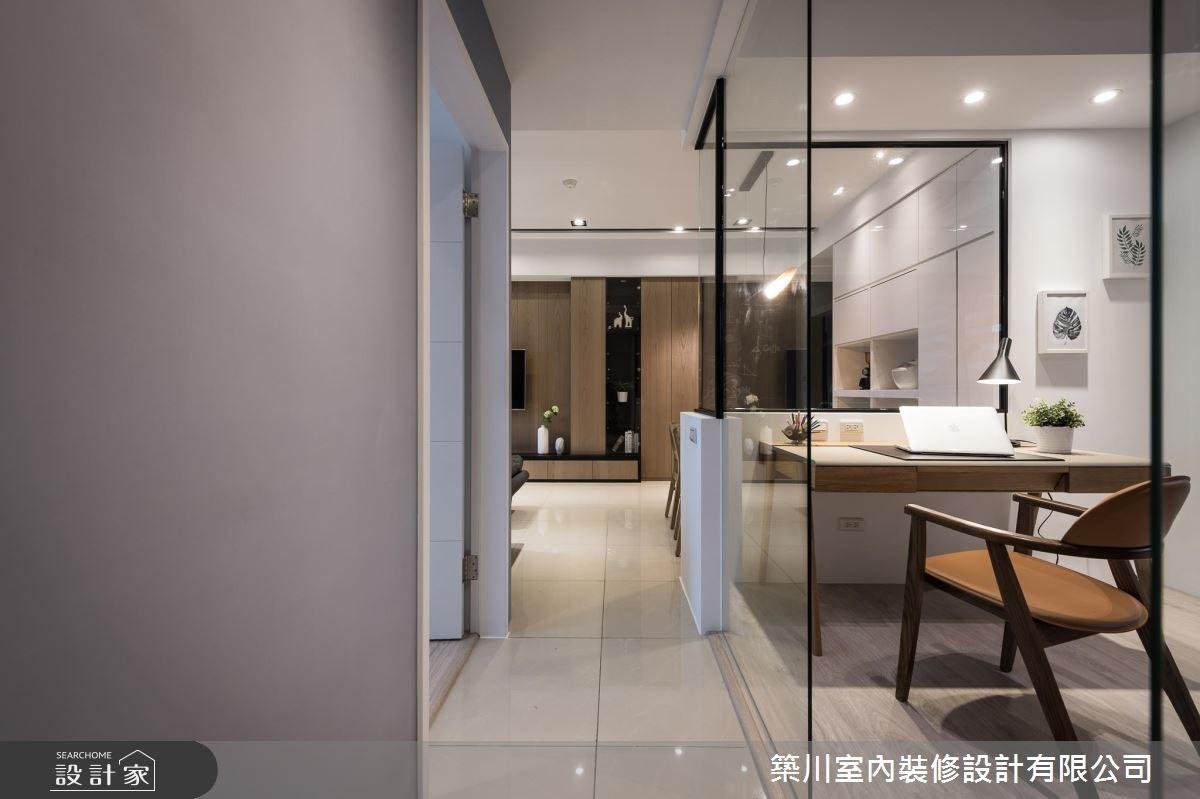 23坪新成屋(5年以下)_北歐風客廳書房案例圖片_築川設計_築川_06之8