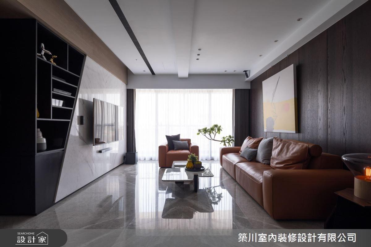 40坪新成屋(5年以下)_現代風客廳案例圖片_築川設計_築川_09之2