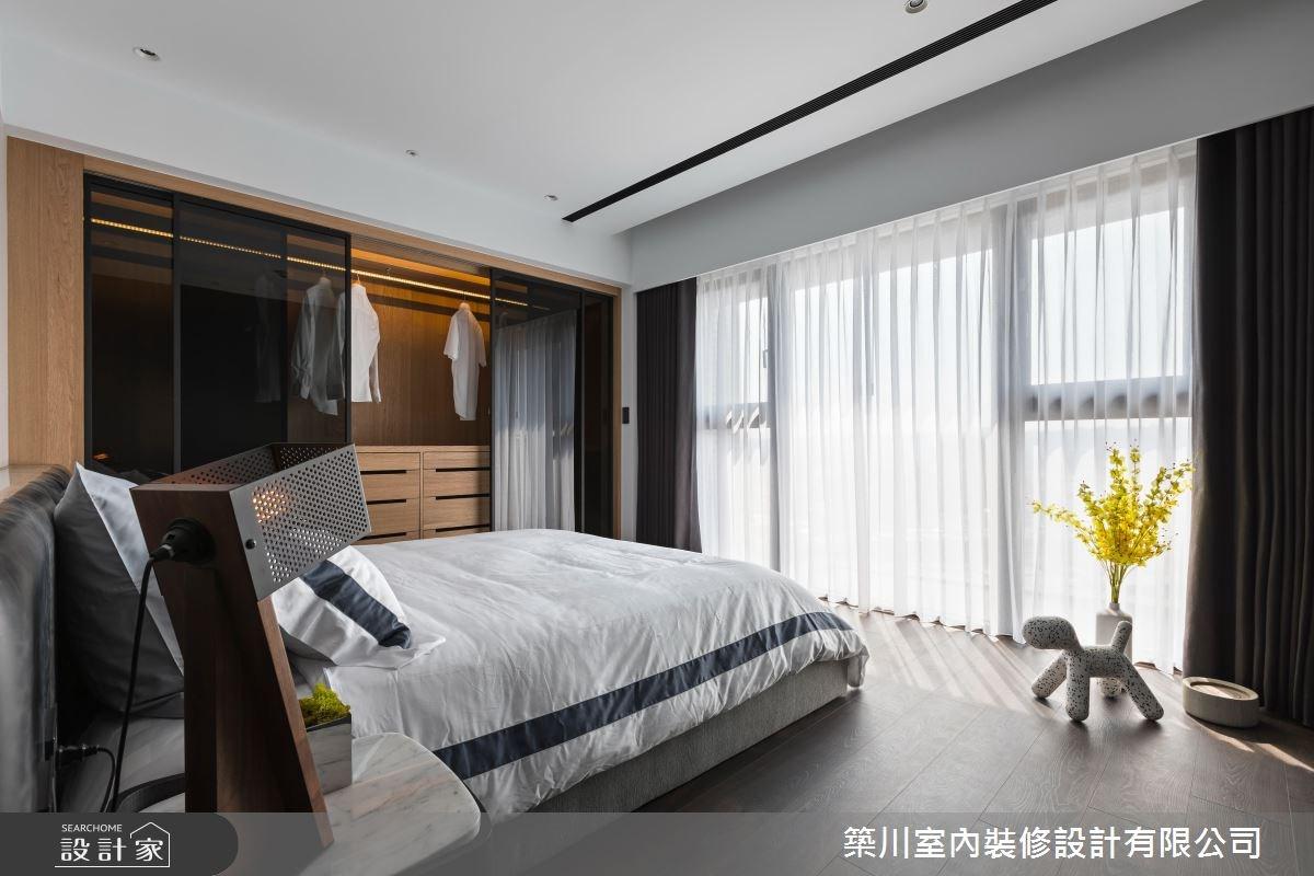 40坪新成屋(5年以下)_現代風臥室案例圖片_築川設計_築川_09之10