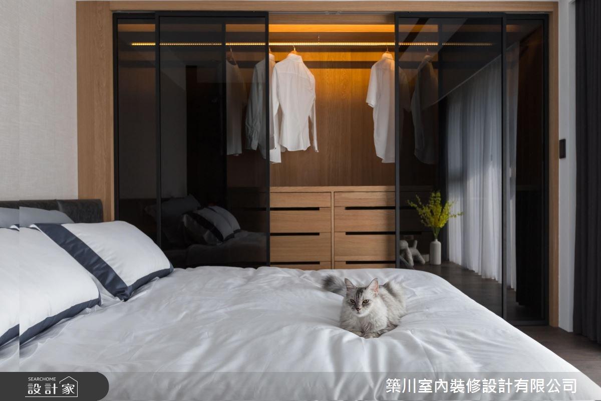 40坪新成屋(5年以下)_現代風臥室案例圖片_築川設計_築川_09之11
