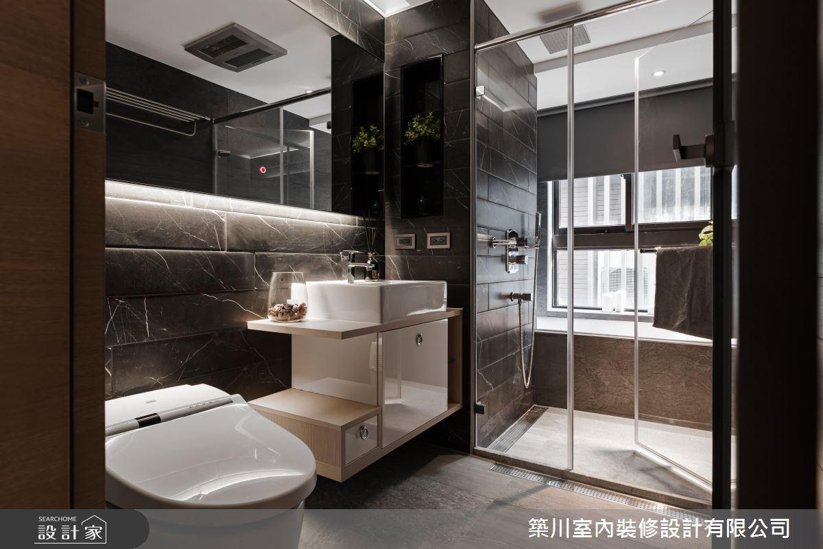 40坪新成屋(5年以下)_現代風浴室案例圖片_築川設計_築川_09之13