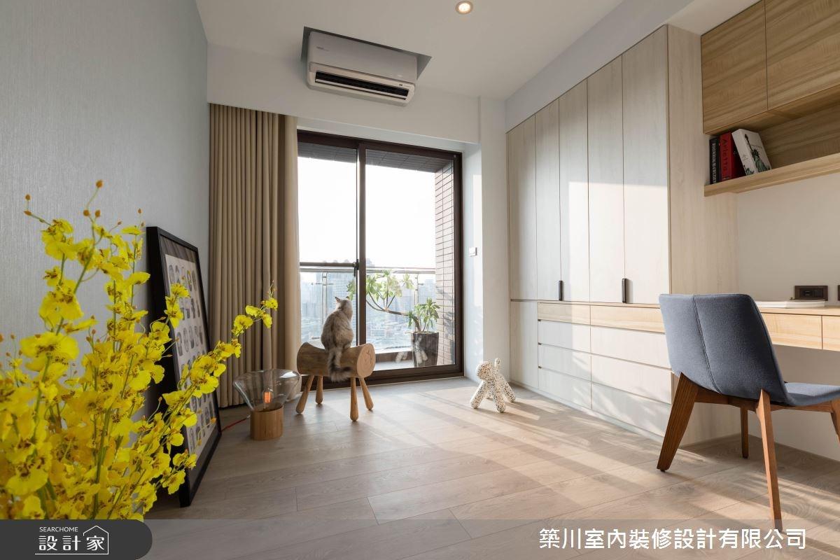 40坪新成屋(5年以下)_現代風書房案例圖片_築川設計_築川_09之15