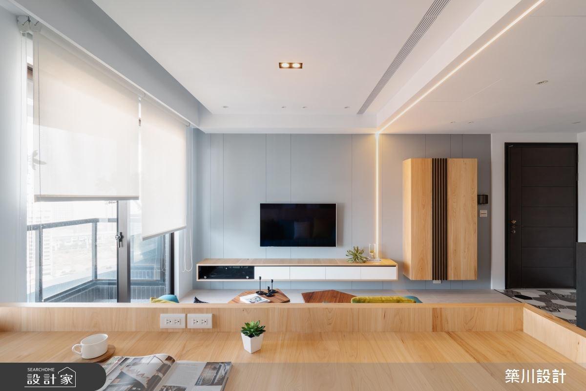 20坪新成屋(5年以下)_北歐風工作區案例圖片_築川設計_築川_11之8