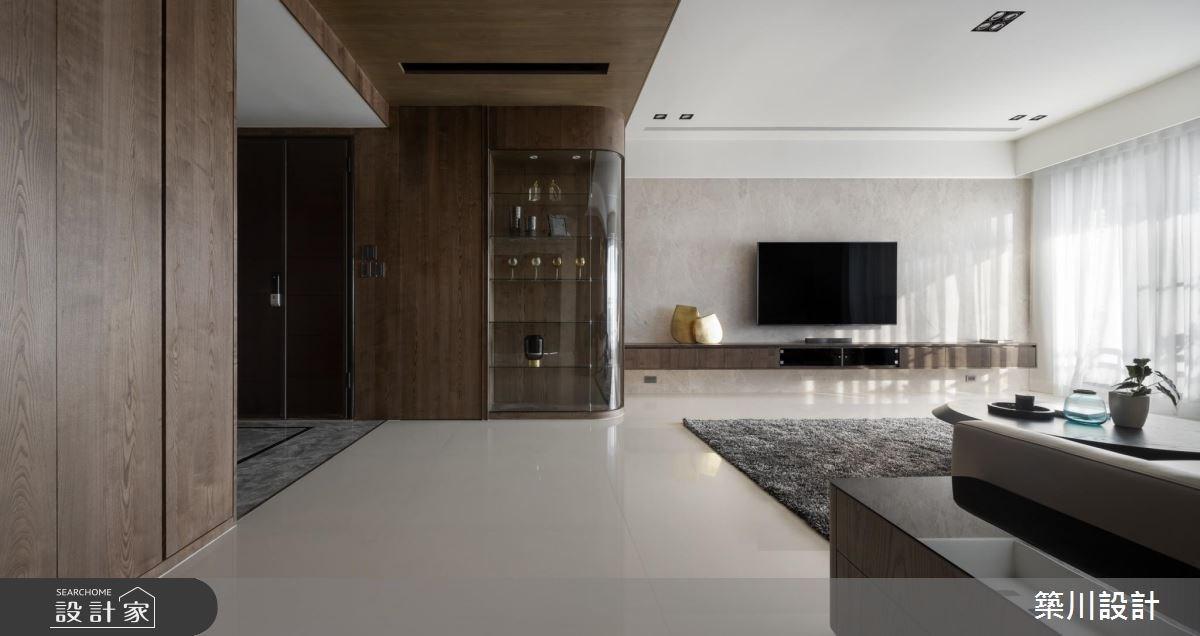 70坪新成屋(5年以下)_現代風客廳案例圖片_築川設計_築川_13之2