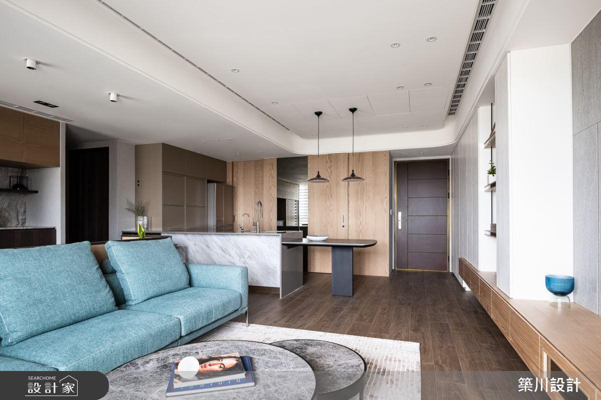 30坪新成屋(5年以下)_現代風客廳案例圖片_築川設計_築川_14之3