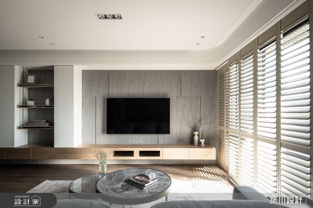 30坪新成屋(5年以下)_現代風客廳案例圖片_築川設計_築川_14之4