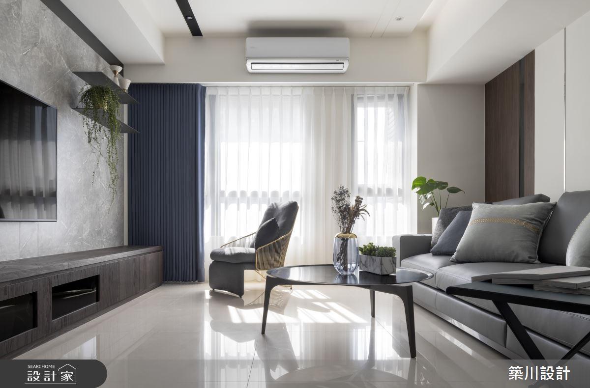 32坪新成屋(5年以下)_現代風客廳案例圖片_築川設計_築川_15之9