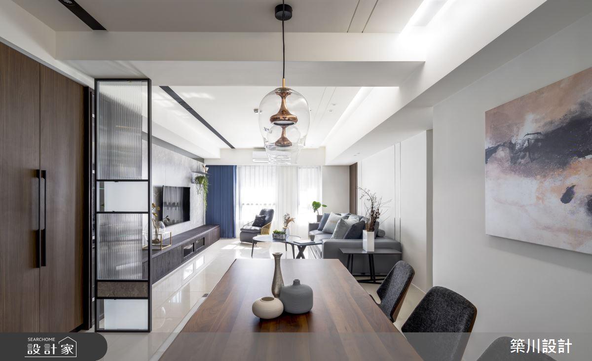 32坪新成屋(5年以下)_現代風餐廳案例圖片_築川設計_築川_15之5