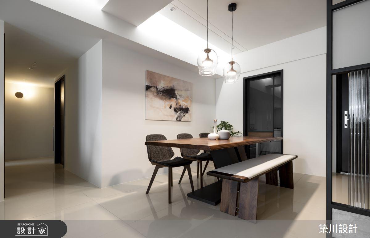 32坪新成屋(5年以下)_現代風餐廳案例圖片_築川設計_築川_15之7