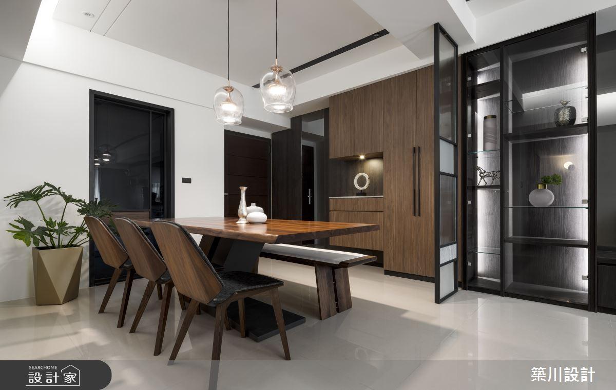 32坪新成屋(5年以下)_現代風餐廳案例圖片_築川設計_築川_15之4