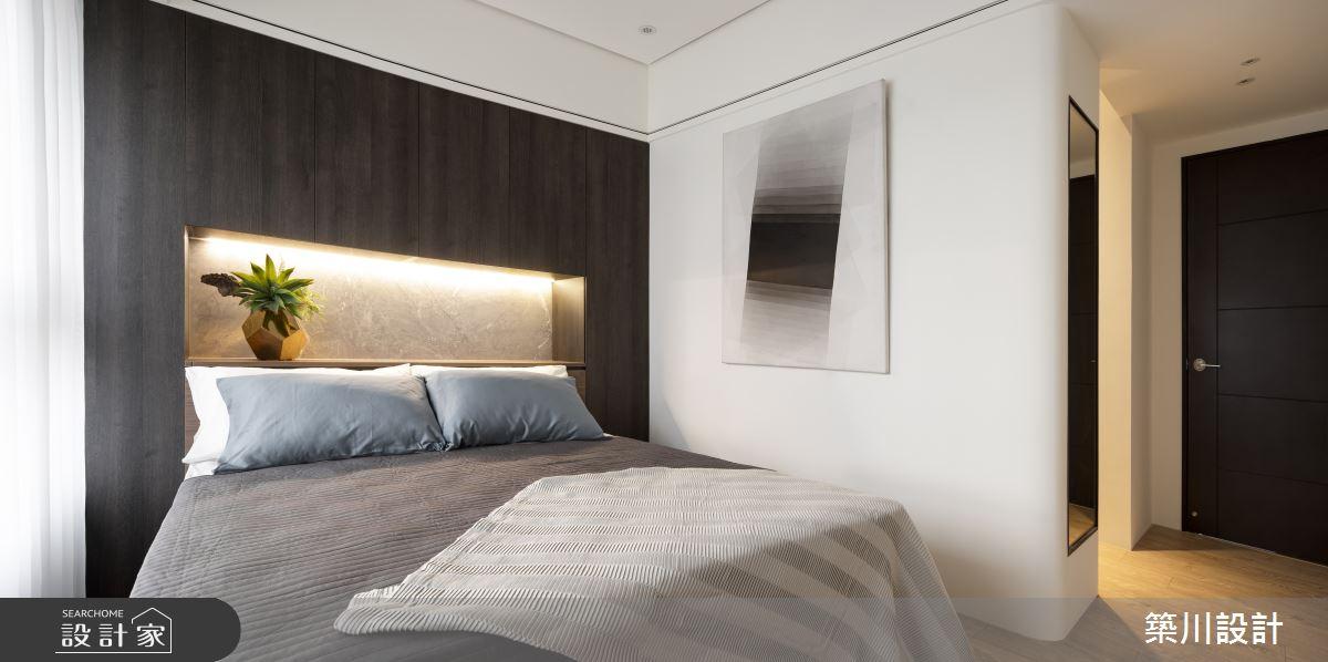 32坪新成屋(5年以下)_現代風臥室案例圖片_築川設計_築川_15之12