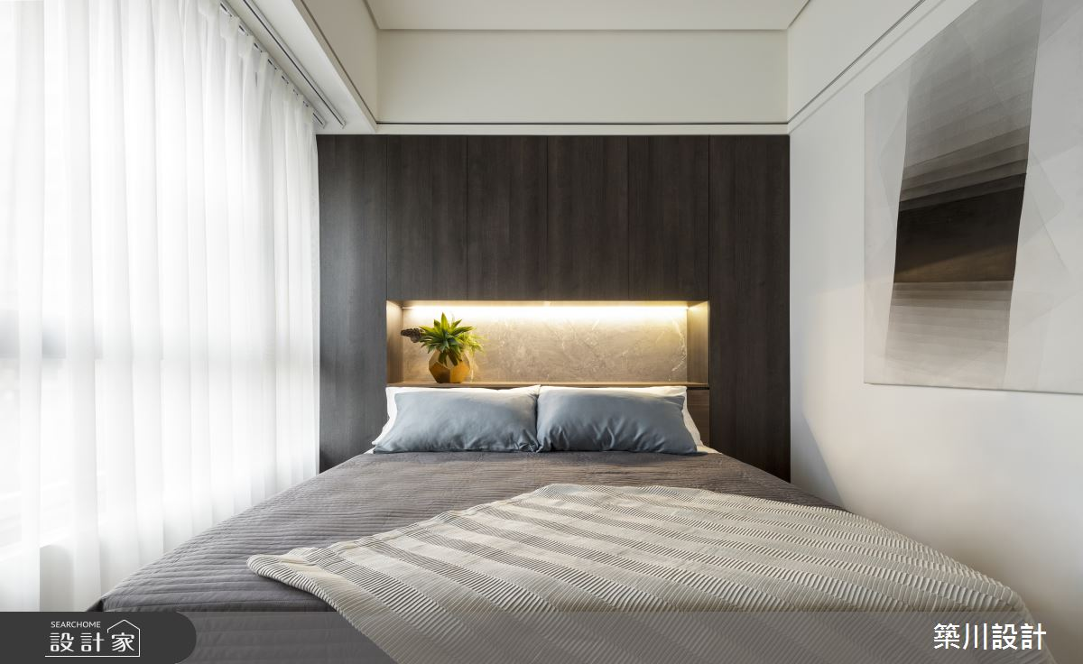 32坪新成屋(5年以下)_現代風臥室案例圖片_築川設計_築川_15之11