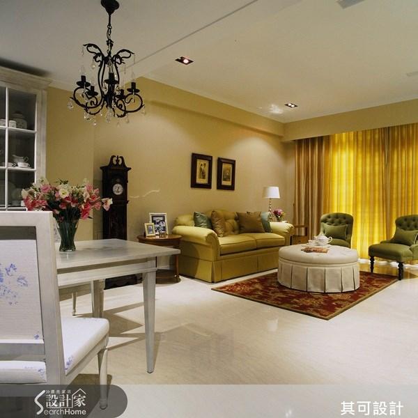 85坪新成屋(5年以下)_美式風案例圖片_其可設計_其可_07之2