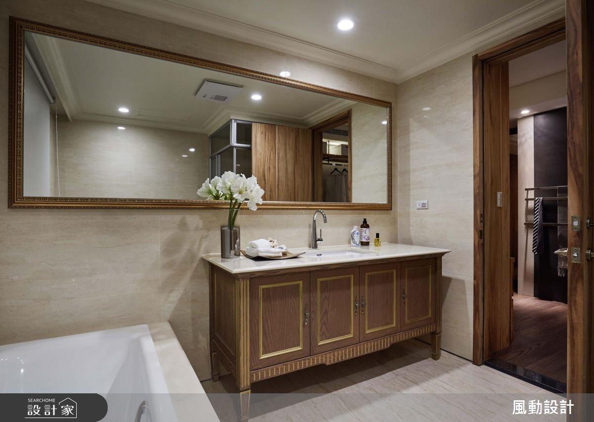 114坪新成屋(5年以下)_奢華風浴室案例圖片_風動設計有限公司_風動_01之13