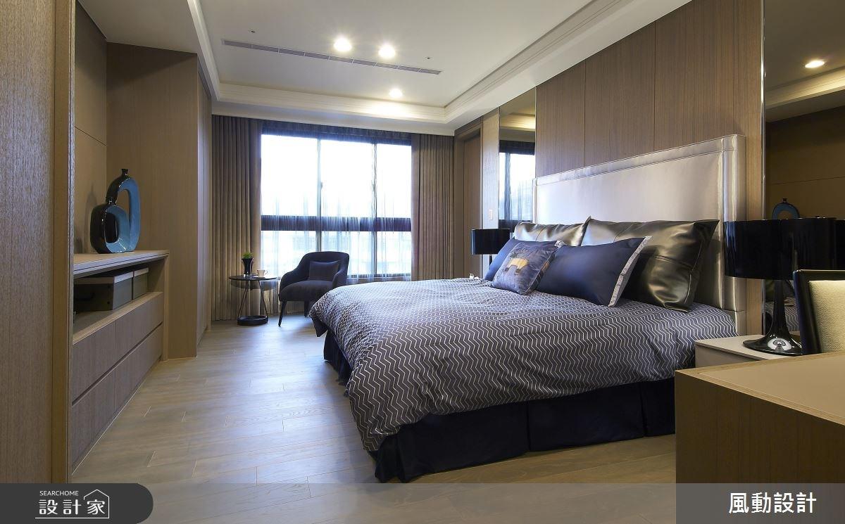 135坪新成屋(5年以下)_新中式風臥室案例圖片_風動設計有限公司_風動_04之3