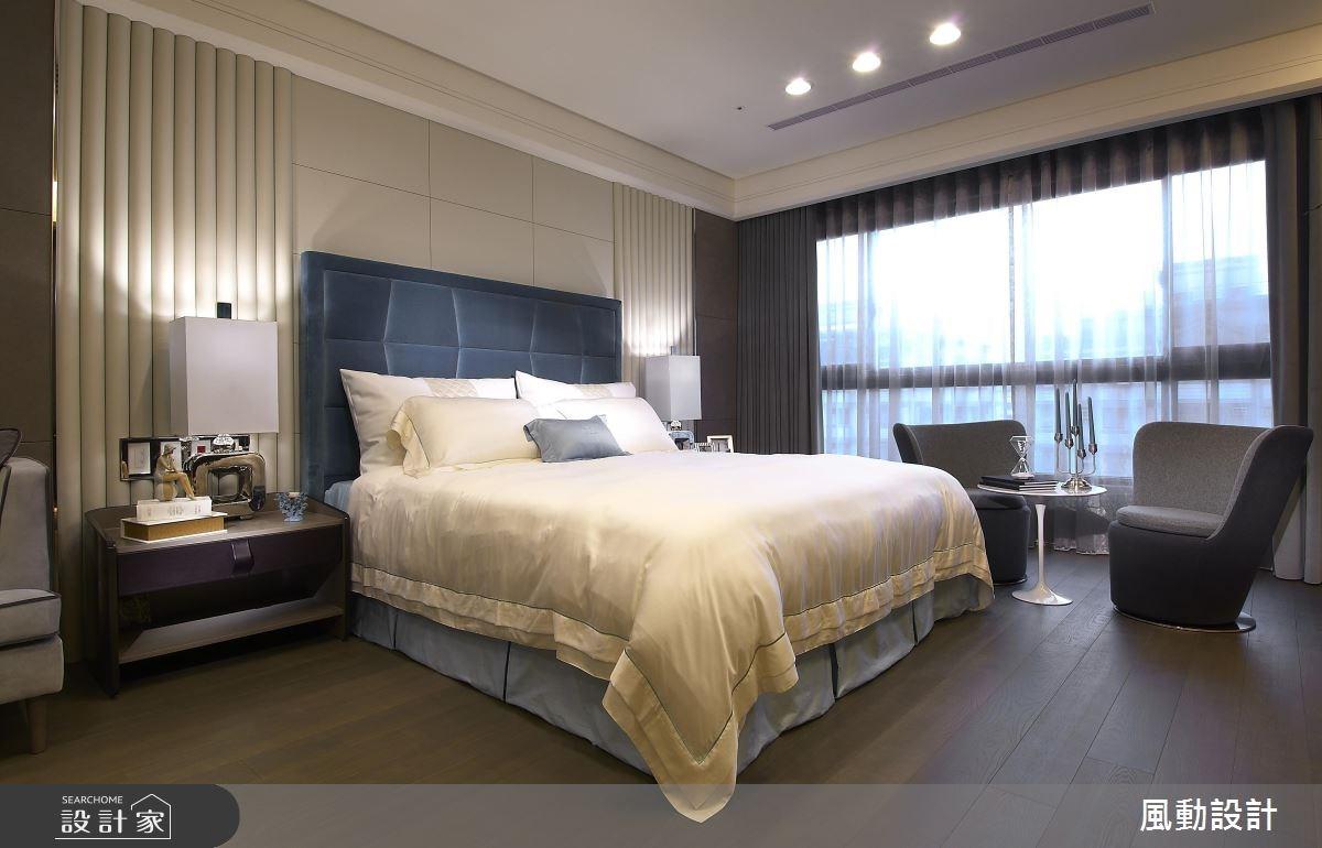 135坪新成屋(5年以下)_新中式風臥室案例圖片_風動設計有限公司_風動_04之4
