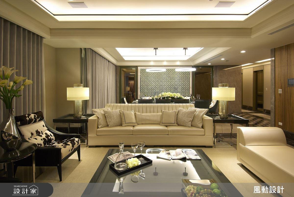136坪新成屋(5年以下)_現代風客廳餐廳案例圖片_風動設計有限公司_風動_06之1