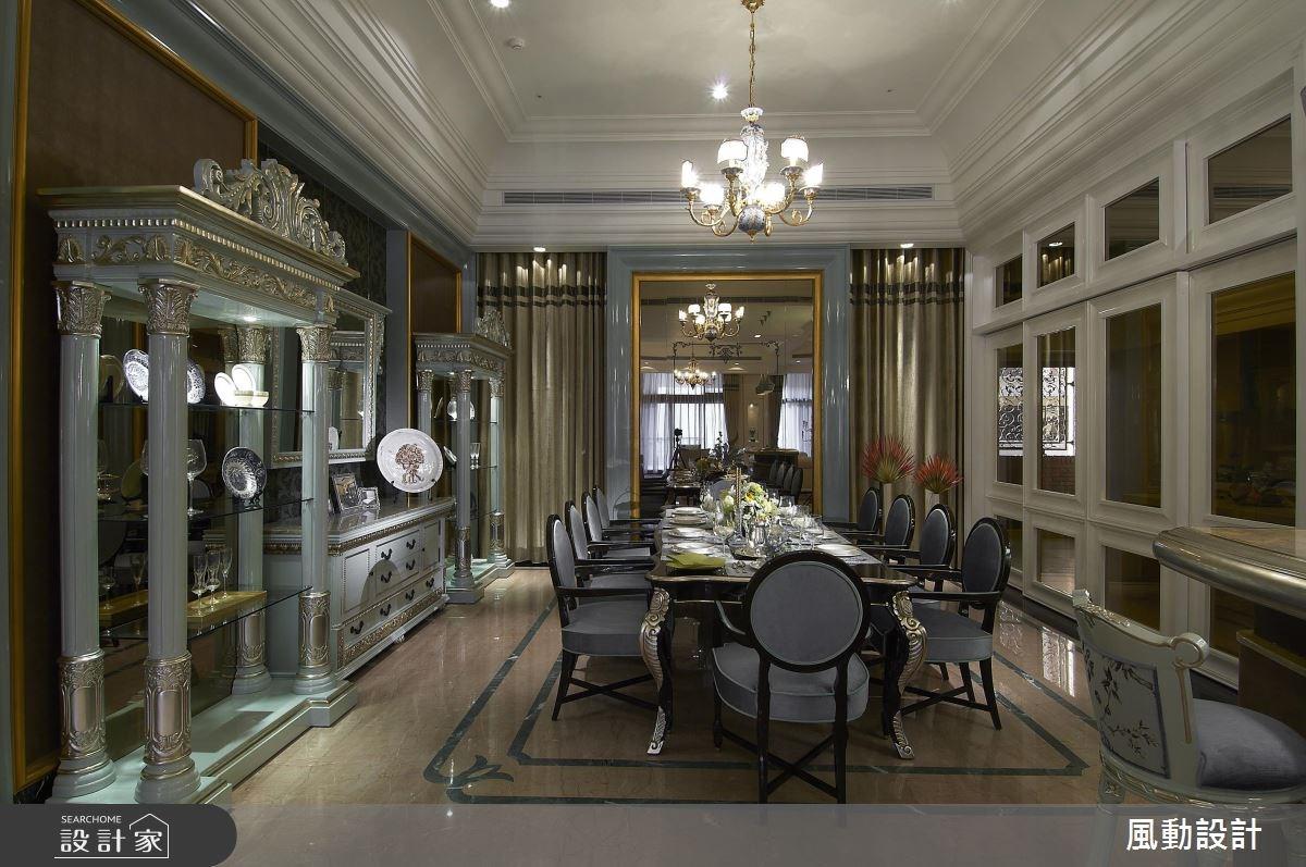 160坪新成屋(5年以下)_新古典餐廳案例圖片_風動設計有限公司_風動_07之5