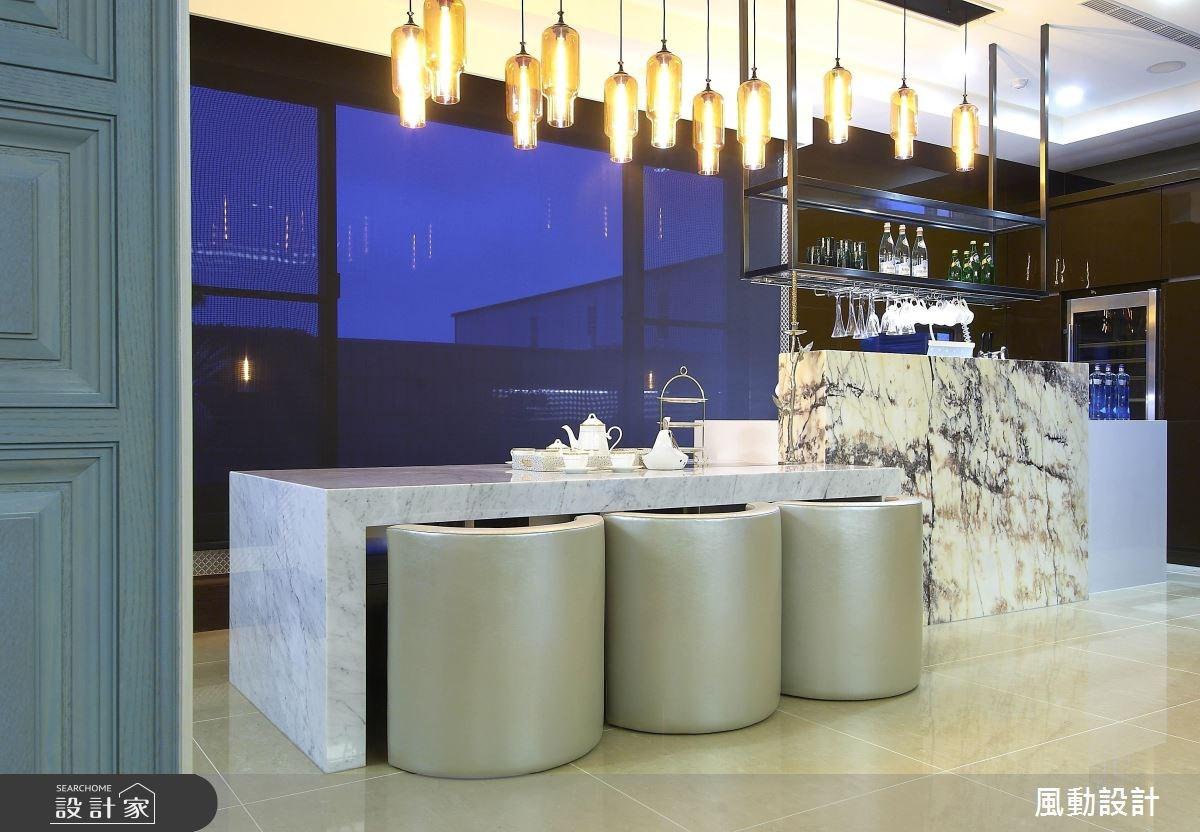 120坪新成屋(5年以下)_奢華風餐廳案例圖片_風動設計有限公司_風動_08之5
