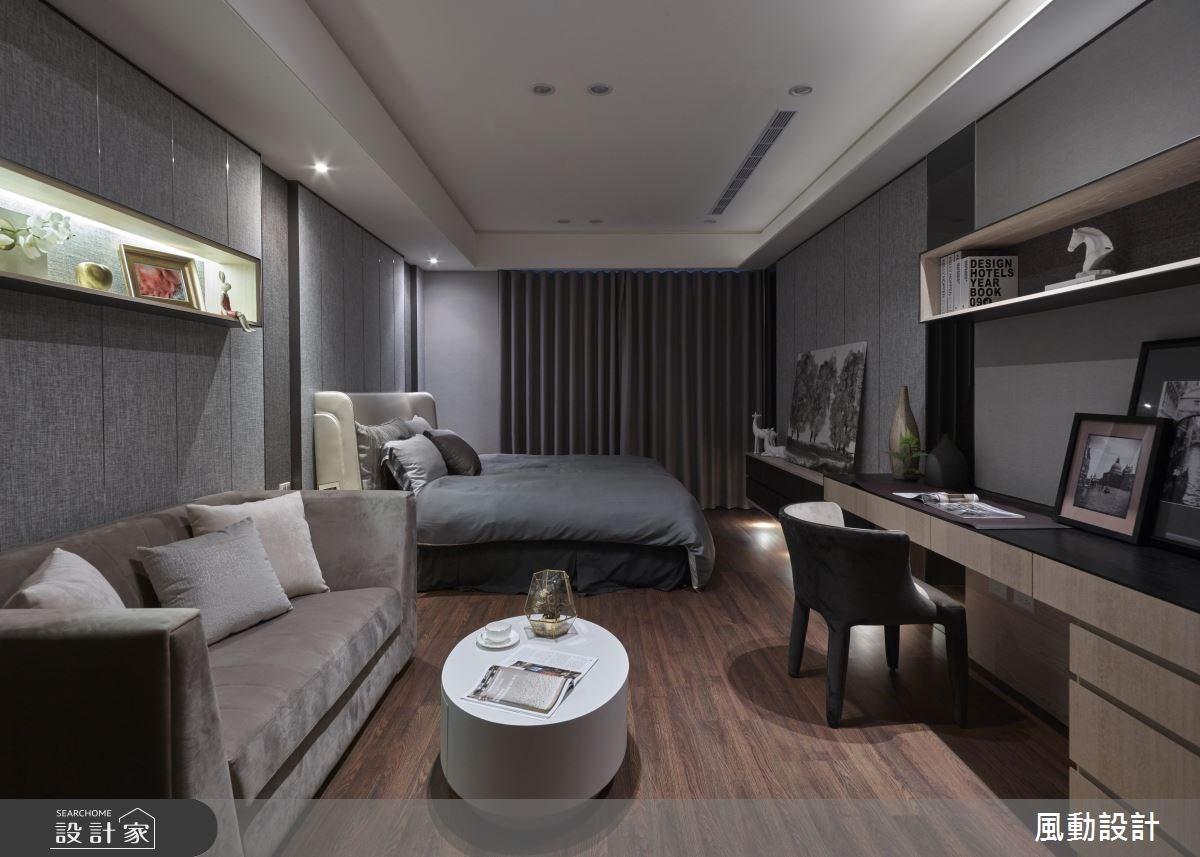 90坪新成屋(5年以下)_現代風臥室案例圖片_風動設計有限公司_風動_10之6