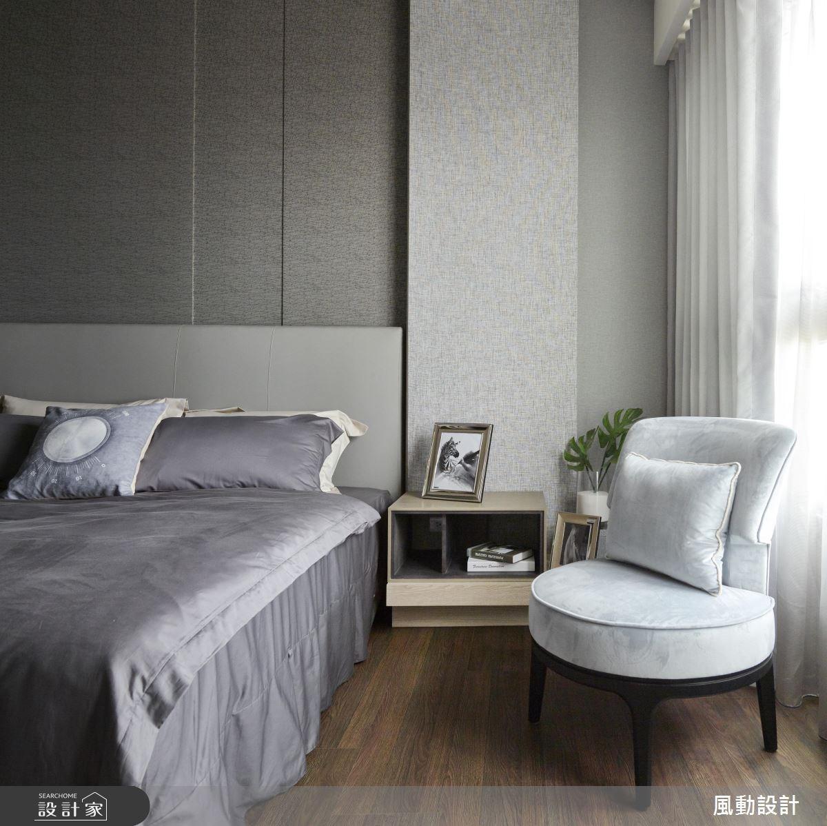90坪新成屋(5年以下)_現代風臥室案例圖片_風動設計有限公司_風動_10之8