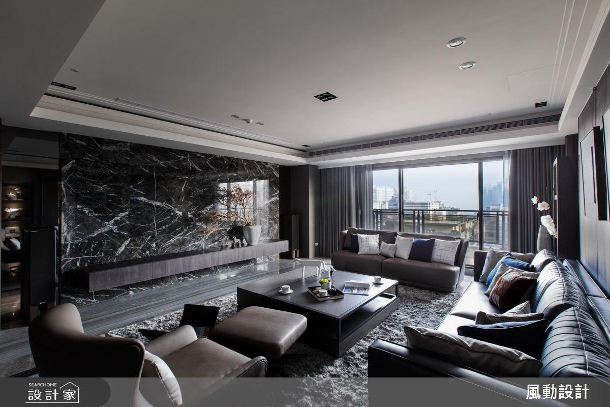 137坪新成屋(5年以下)_現代風客廳案例圖片_風動設計有限公司_風動_13之2