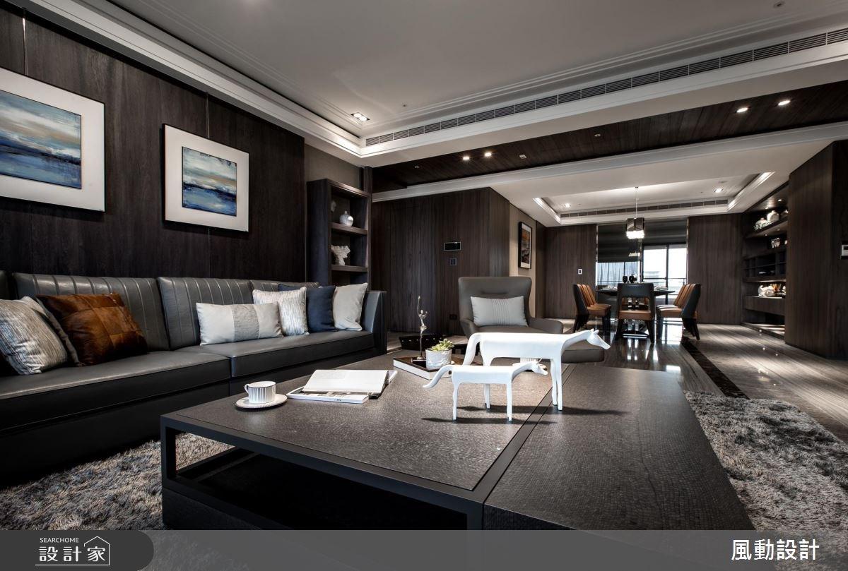 137坪新成屋(5年以下)_現代風客廳餐廳案例圖片_風動設計有限公司_風動_13之3